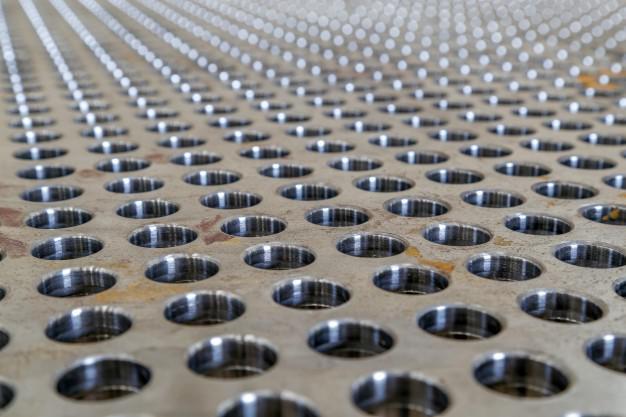 Tela perfurada de aluminio